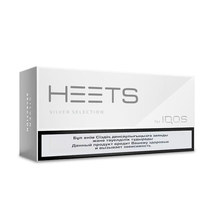 IQOS HEETS Silver Selection