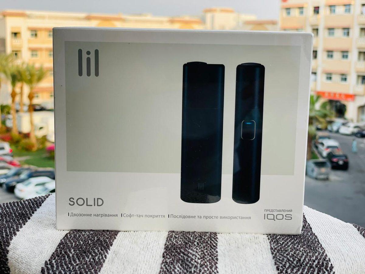 IQOS Lil SOLID Black Kit