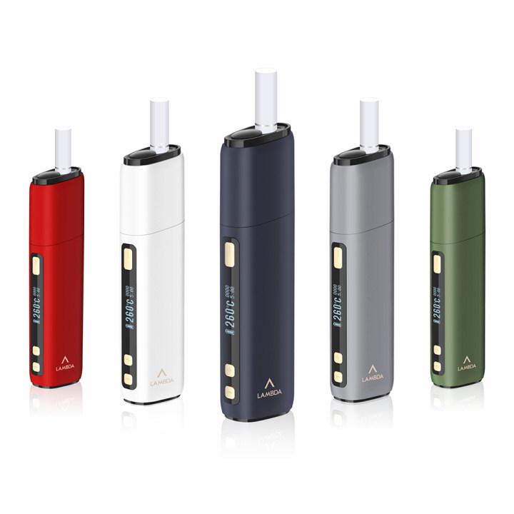 LAMBDA CC Heat Not Burn Device Starter Kits for Tobacco Sticks